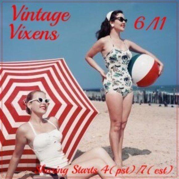 FRIDAY 6/11 Vintage Vixens Sign Up Sheet